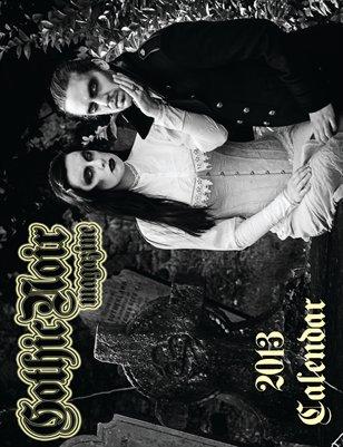 gothic noir 2013/2014 calendar 16 months