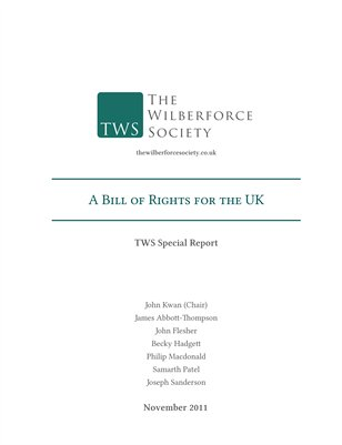Special Report — A Bill of Rights for the UK