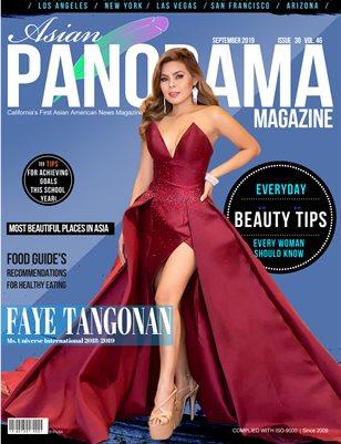 Faye Tangonan Asian Panorama Magazine Sept Issue