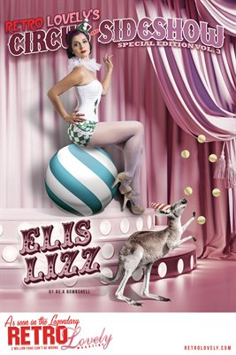 Circus & Sideshow 2021 Vol.3 – Elis Lizz Cover Poster