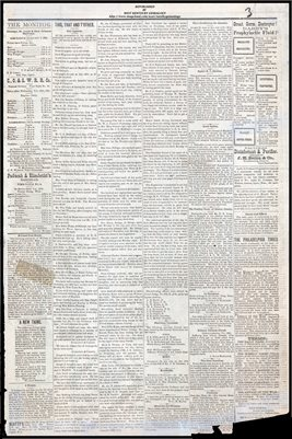 (PAGES 3-4) DECEMBER 31, 1881 MAYFIELD MONITOR NEWSPAPER, MAYFIELD, GRAVES COUNTY, KENTUCKY