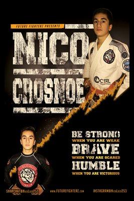 Nico Crosnoe Humble Poster