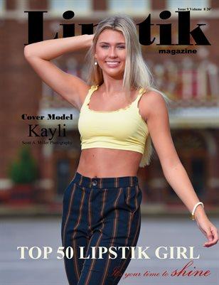 Lipstik magazine Issue 9 Volume 8 20'