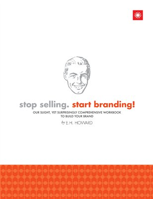 stop selling. start branding! workbook