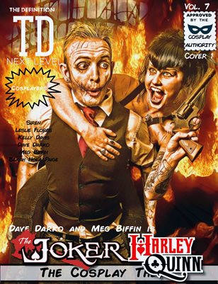 TDM Cosplay Vol.7 Dave Darko & Meg Biffin Cover1