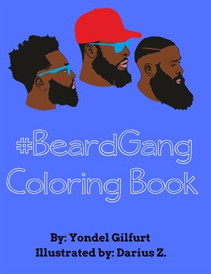 #BeardGang Coloring Book
