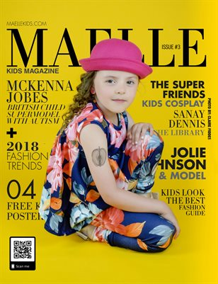Maelle Kids Magazine Issue #3 Mckeena Rose