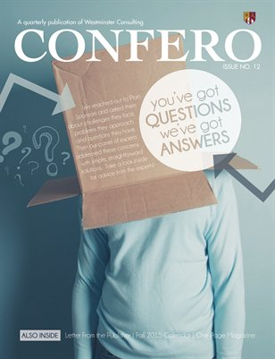 Confero Fall 2015: Plan Sponsors' Questions and Answers
