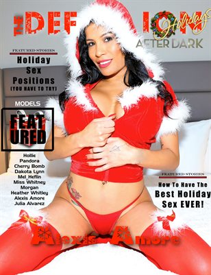 TDM After Dark Alexis Amore Holiday Issue 1 cover 1