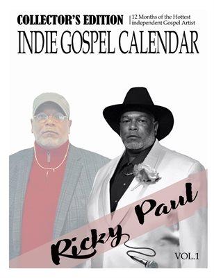 2021 Indie Gospel Artist Calendar