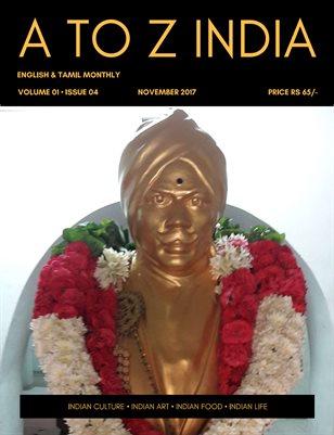 A TO Z INDIA - NOVEMBER 2017