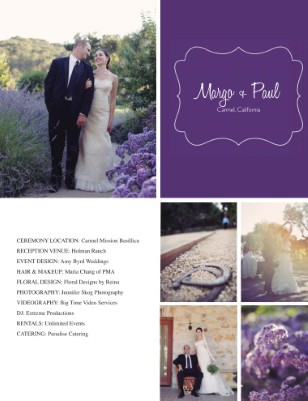 Margo + Paul Vendor Magazine
