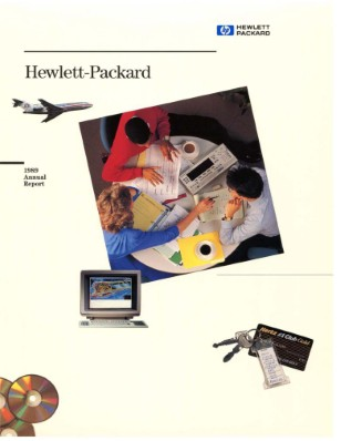 HP Annual Report 1989