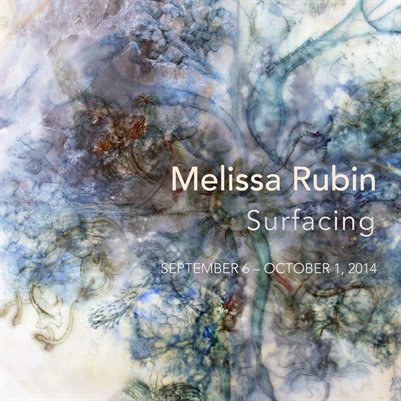 Melissa Rubin: Surfacing-New Mixed Media Encaustic Paintings
