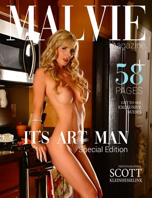 NUDE Special Edition - It's ART Man - MALVIE Mag
