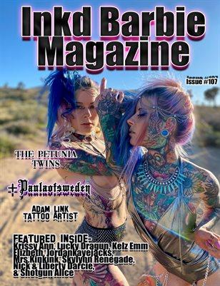 Inkd Barbie Magazine Issue #107 - Petunia Twins