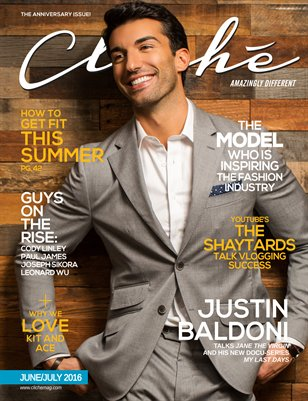 Cliché Magazine - June/July 2016 (Justin Baldoni Cover)