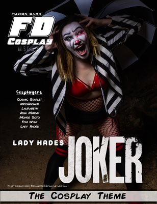 Fuzion Dark Lady Hades Cosplay VOL 5 Cover 3