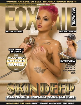 FOXTAIL Magazine Issue #13 | Natasha Nunez Cover