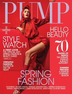 PUMP Magazine | The May Fashion Issue | Vol.4 | May 2021