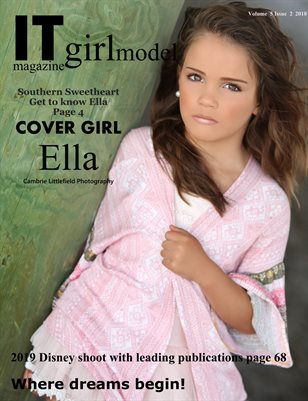 It Girl model magazine Issue 2 Volume 5 2018