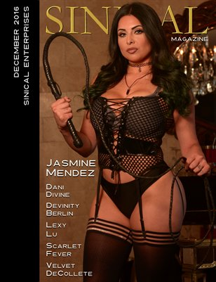 Sinical December 2016 - Jasmine Mendez cover edition