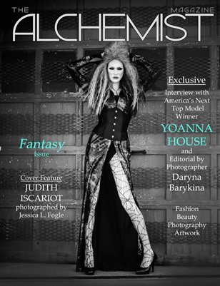 The Alchemist Magazine - Fantasy Issue - Cover 3 Judith Iscariot