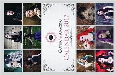 Gothic & Amazing 2017 Calendar