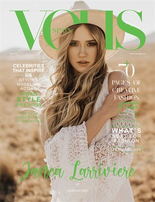VOUS Magazine | The April Fashion & Beauty Edition | Vol.3 | 2021