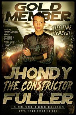 Jhondy Fuller Gold Member/Diploma Poster