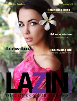 LAZIN Magazine Rekindling Hope Edition 2 January 2021