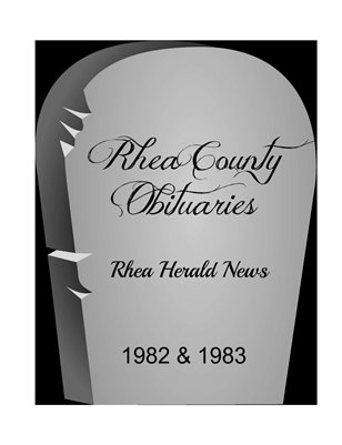 Rhea County Obituaries 1982 & 1983