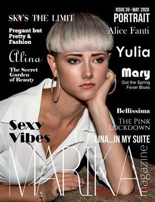 MARIKA MAGAZINE PORTRAIT (May - issue 39)