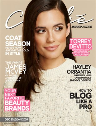Cliché Magazine - Dec 2015/Jan 2016 (Torrey DeVitto Cover)