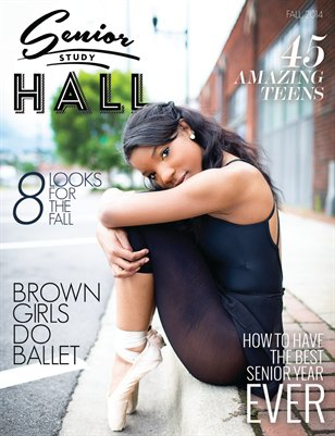 Senior Study Hall Magazine Fall 2014
