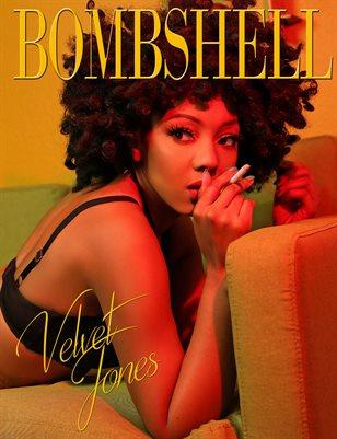 BOMBSHELL Magazine May 2019 - Velvet Jones Cover