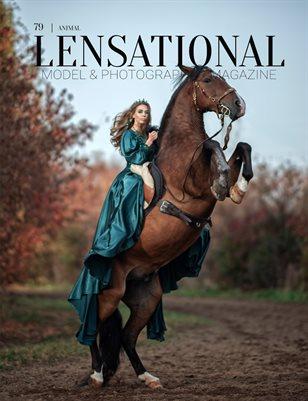 LENSATIONAL Model and Photographer Magazine #79 Issue  Animal - January 2021