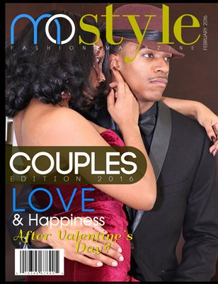 MoStyle Fashion Magazine Couples Issue 2016