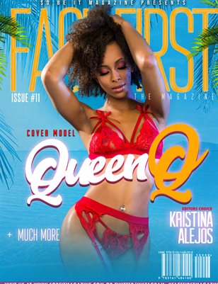 FACE FIRST MAGAZINE ISSUE 11 (QUEEN Q)