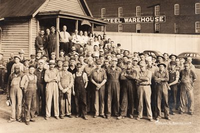 Marine Ways of Paducah, Kentucky 1944 Employee Group