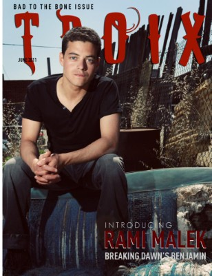 "RAMI MALEK ""Breaking Dawn's Benjamin"""