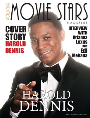 World Class Movie Stars Magazine with Harold Dennis