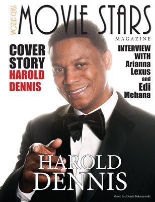 World Class Movie Stars Magazine with Harold Dennis