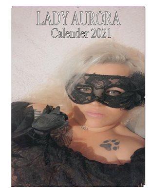 Lady Aurora 2021 Topless Calendar