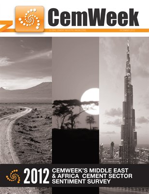 2012 CemWeek Middle East and Africa Cement Sector Sentiment Survey