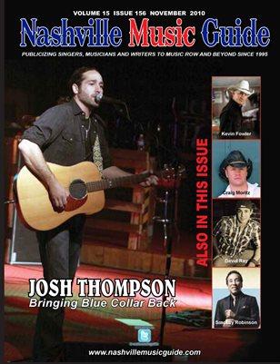 Nashville Music Guide November 2010 Vol. 15 Iss. 156