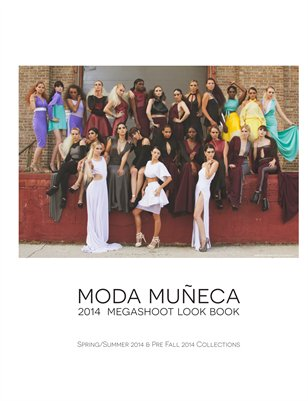 Moda Muñeca 2014 Mega Shoot Look Book, Spring/Summer and Pre-Fall Collections