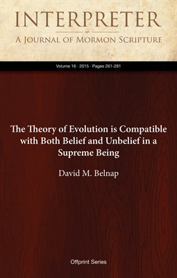 The Theory of Evolution is Compatible with Both Belief and Unbelief in a Supreme Being