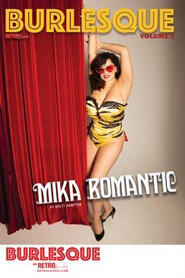 BURLESQUE Volume 5 - Mika Romantic Cover Poster