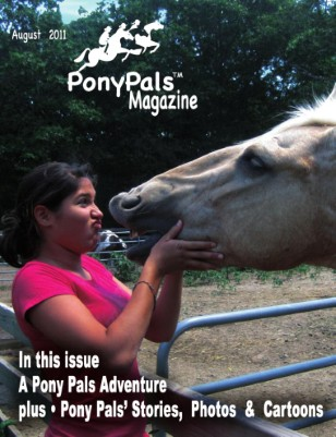 Pony Pals Magazine -- August 2011 --  Volume1 #3